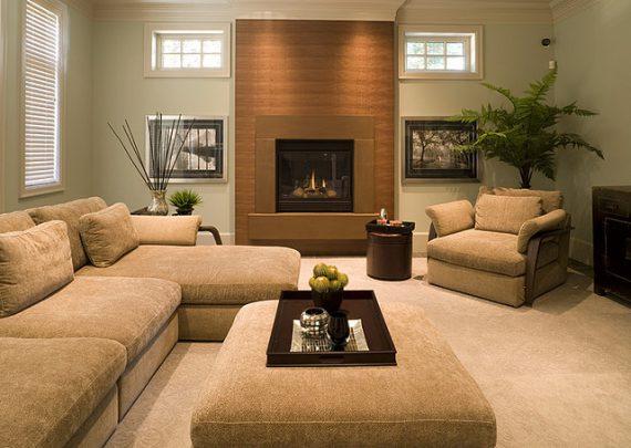 Modern-Fireplace-nutmeg-cast-concrete-earthtone-living-room